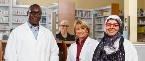 Four Pharmacists