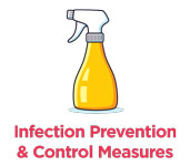 Infection prevention and control measures